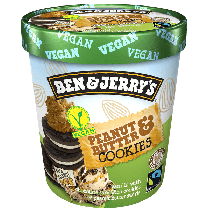 Ben & Jerry's Non Dairy Peanut Butter Cookie 500ml