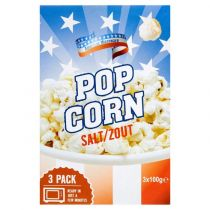 American Microwave Popcorn Zout 100g