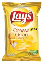 Lay's Cheese & Onion 225g