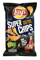 Lay's Super Chips Heinz Tomato Ketchup 215g